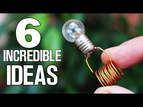 Thumbnail: 6 simple ideas and Life Hacks