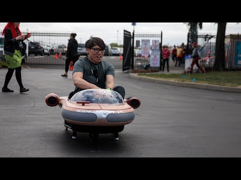 Hacked Star Wars Landspeeder Toy Car!