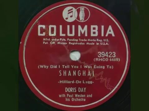 Doris Day with Paul Weston and his Orchestra - Shanghai (1951)