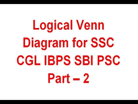 Logical venn diagram for ssc cgl ibps po sbi psc ssc and other logical venn diagram for ssc cgl ibps po sbi psc ssc and other govt exams part 2 ccuart Images