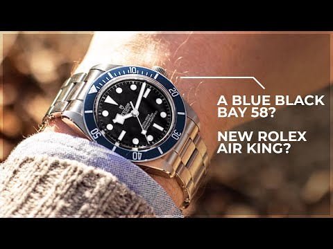 A Blue Black Bay 58 A New Rolex Air King Baselworld Predictions