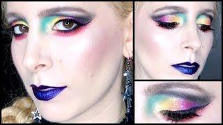 GRWM Star Trek Beyond Movie Holographic Rainbow Makeup ft Eye Kandy, Sugarpill & New NYX stuff