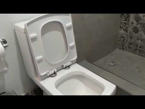 2019 01 03 Fixing loose toilet seat w/hidden screws or bolts   YouTube