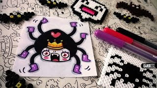 Halloween Drawings - How To Draw Cute Spider by Garbi KW
