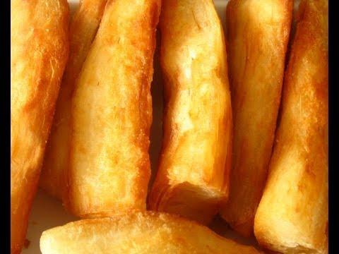 How to Make Fried Yuca (Cassava)
