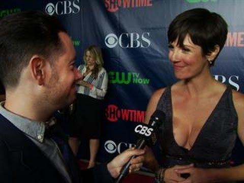 Fall Ps  CBS Press Tour Red Carpet: Zoe McLellan