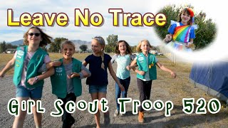 Girl Scouts Shall Leave No Trace