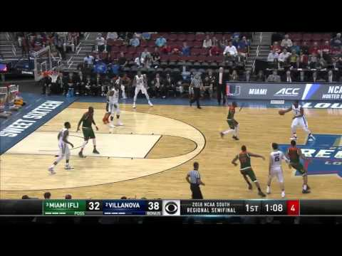 Villanova vs. Miami: Kris Jenkins three-pointer