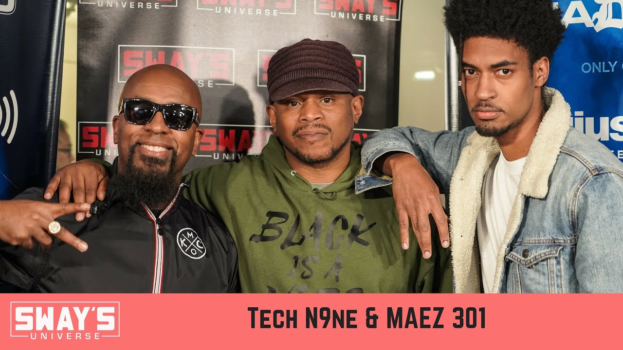 Tech N9ne Introduces New Artist Maez + Freestyles 5 Fingers of Death