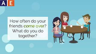 Phrasal Verbs - Come Over and Catch Up With