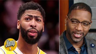 Tracy McGrady rolls his eyes at the Anthony Davis-to-Bulls talk: 'Really?' | The Jump
