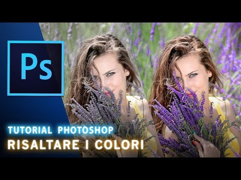 Tutorial Photoshop : Risaltare I Colori Di Una Foto [ Color Pop ]