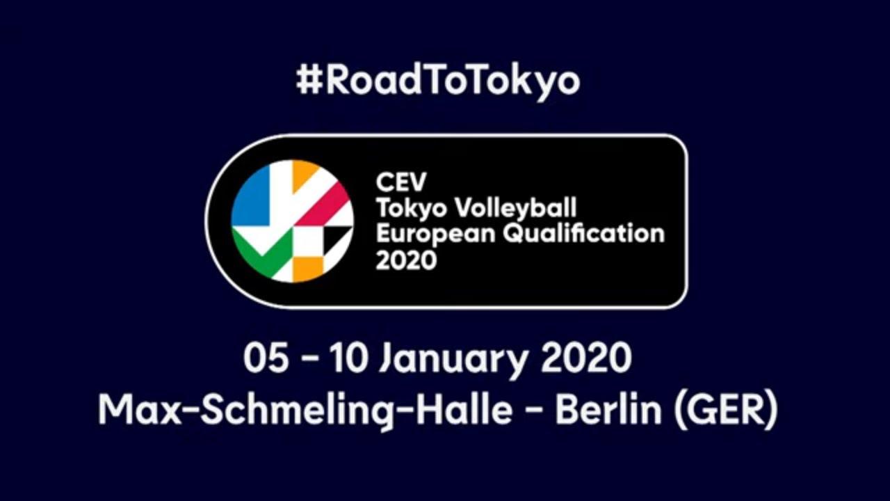 #RoadToTokyo | CEV Toyko European Qualification 2020 - Men - Trailer
