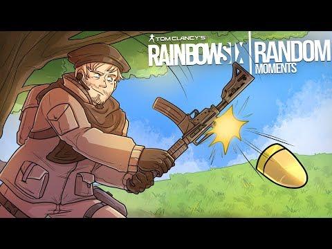 Rainbow Six Siege - Random Moments: #35 (Get Down Mr. Recruit!) thumbnail