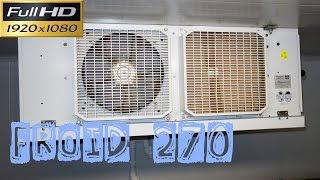 Froid270-Le remplacement du moteur du ventilateur de cet évaporateur-suite de la vidéo Froid269