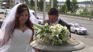 Свадьба Антона и Марии. Прогулка после ЗАГСа