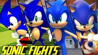 Evolution of Sonic Battles (1996-2018)