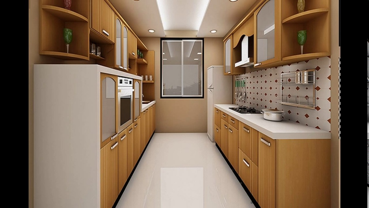 small parallel kitchen design indian parallel kitchen interior design 5538