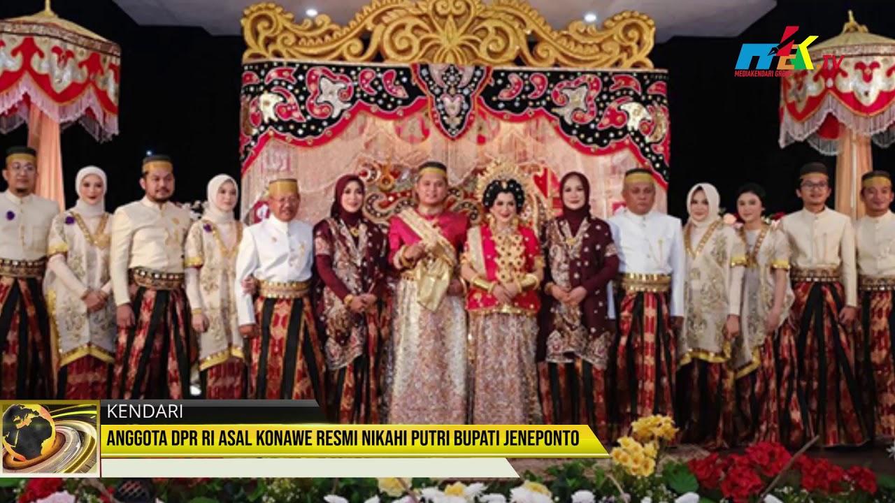 Anggota DPR RI Asal Konawe Resmi Nikahi Putri Bupati Jeneponto