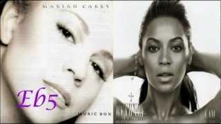 Video Mariah Carey Vs Beyoncé Knowles (Vocal Battle: Third Albums) download MP3, 3GP, MP4, WEBM, AVI, FLV Juli 2018