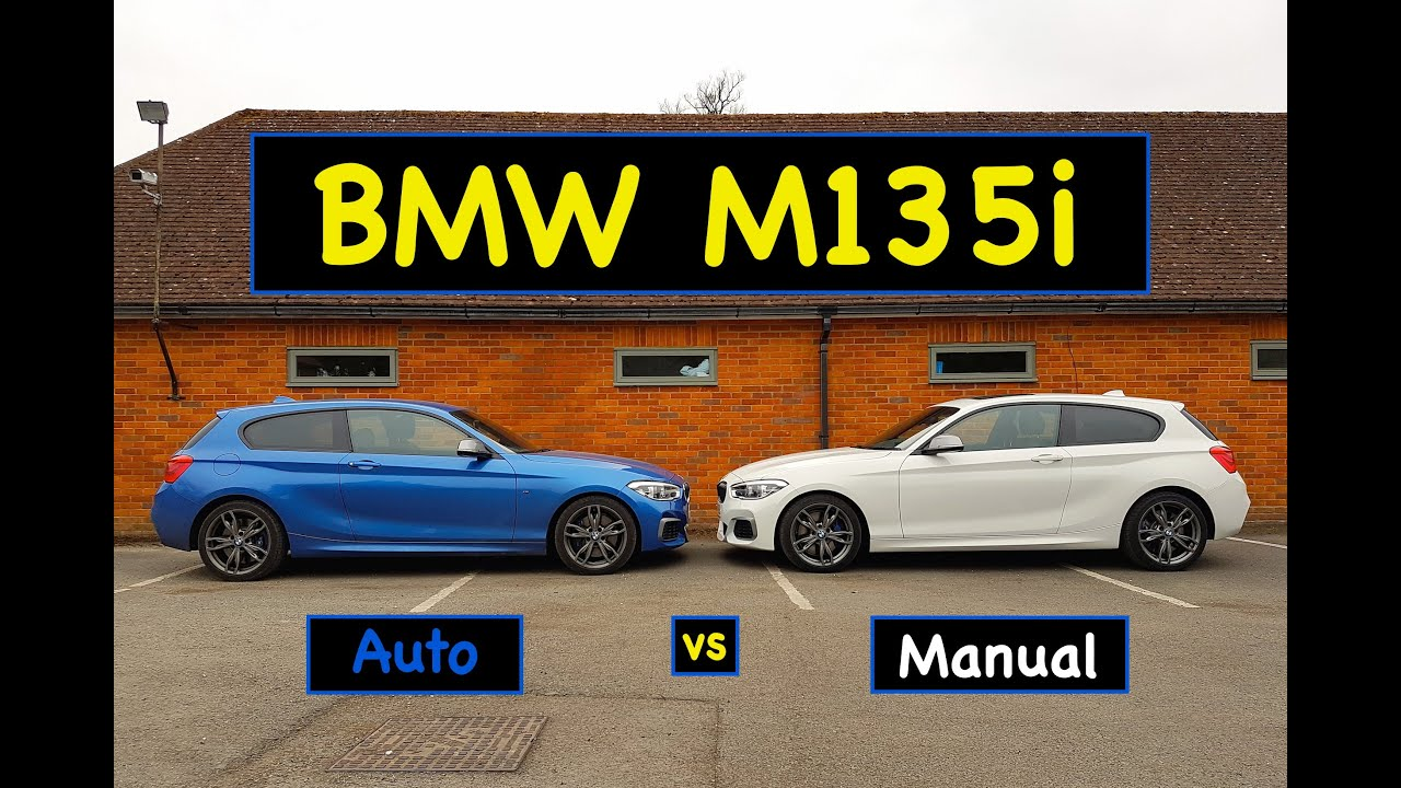 bmw m135i auto vs manual test review 2016 lci youtube. Black Bedroom Furniture Sets. Home Design Ideas