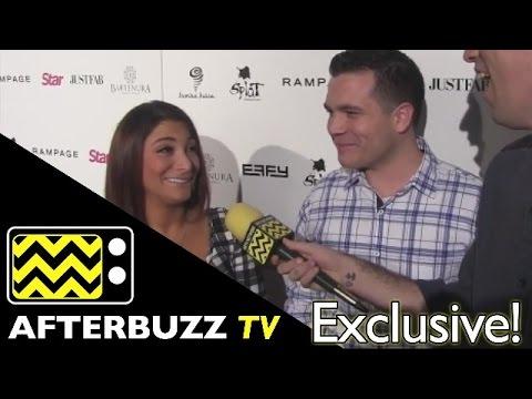 Deena Nicole Cortese & Chris Buckner @ Star Magazine Scene Stealers Red Carpet | AfterBuzz TV