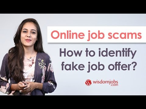 Online Job Scams: How To Identify Fake Job Offer?