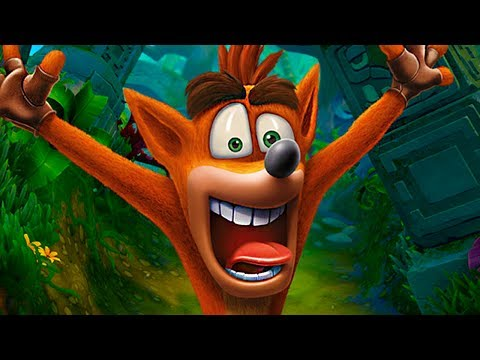 Crash Bandicoot N. Sane Trilogy PS4 - 100% Playthrough en Español [1080p]