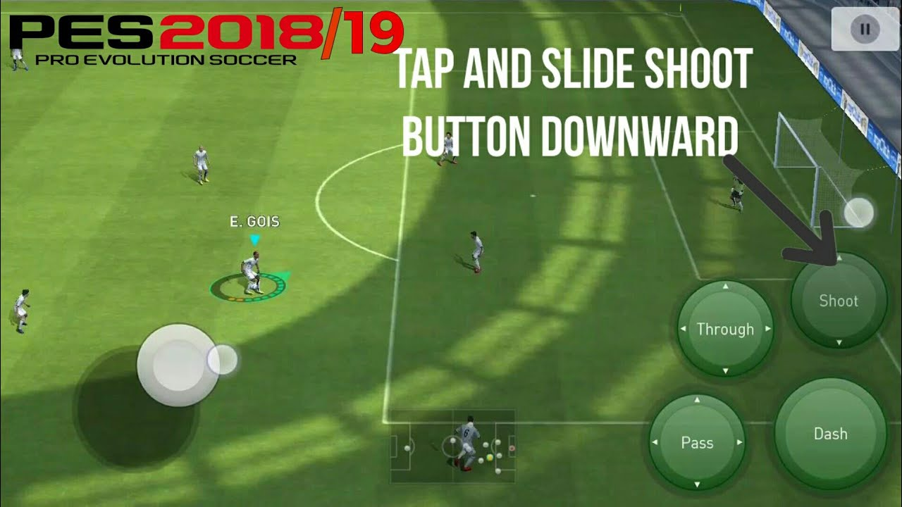 All Shooting, Passing, Dribbling & Skills Tutorial PES 2018/19 MOBILE |  CLASSIC CONTROL TUTORIAL