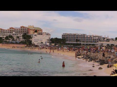 Caribbean   Netherland Antilles   Sint Maarten   Maho Beach (Low Flying Jets)