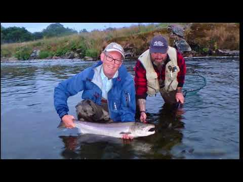 Salmon Fishing On The North Esk - Wainstones Estate (Morphie) July 2018