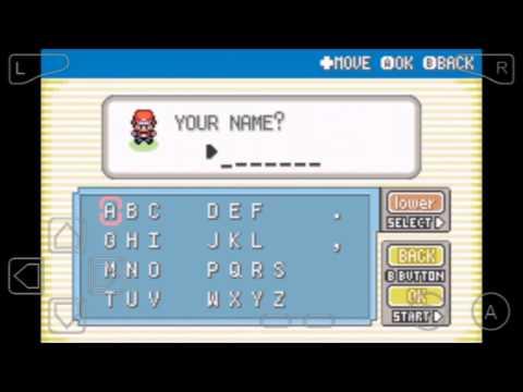 วิธีใส่สูตร Pokemon fire red แบบในมือถือ