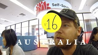 Daily life in Australien... Bank, Behörden, Supermarkt... AUSTRALIEN - LESS WORK / MORE TRAVEL