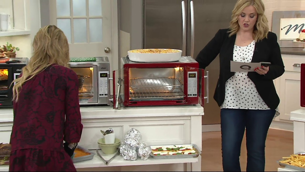 Oster Xl Digital Convection Oven With French Doors On Qvc Youtube
