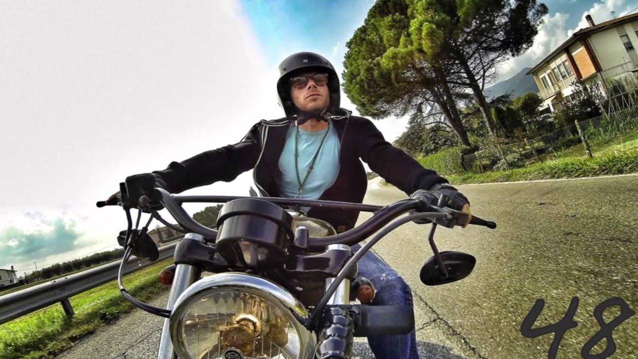 Harley Davidson Sportster Forty Eight - GoPro On Board ...