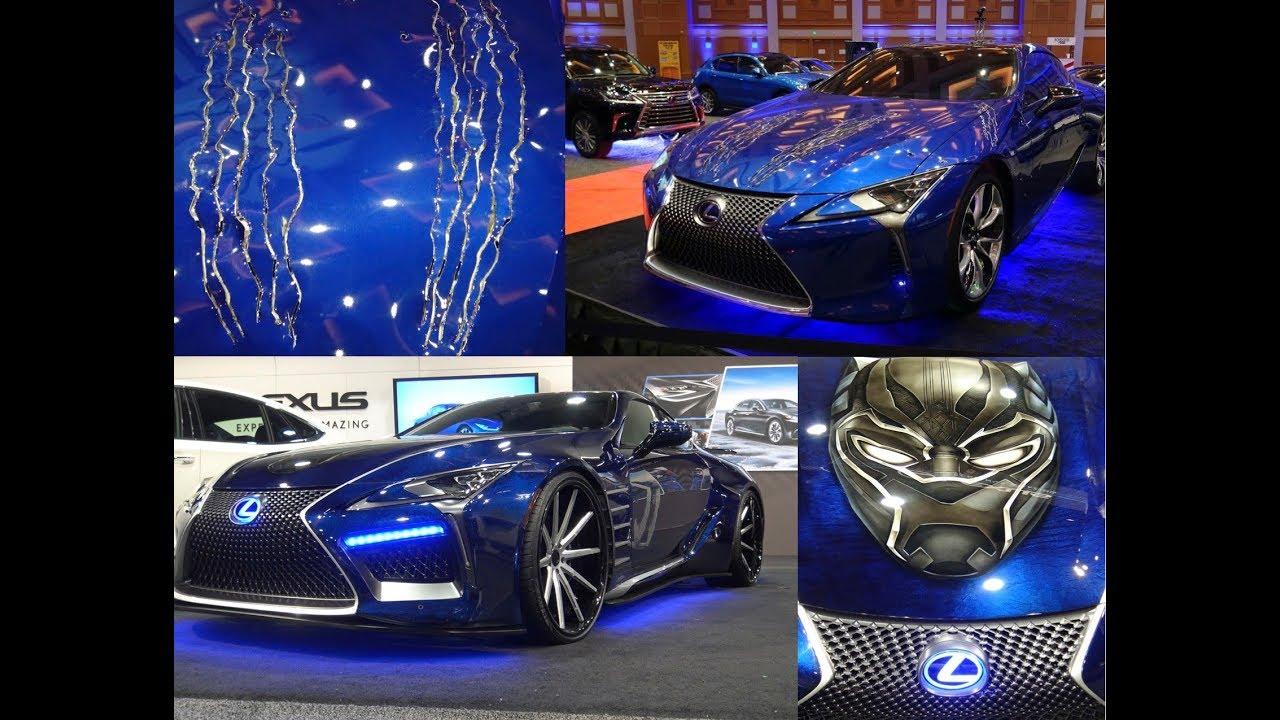 Black Panther Lexus LC500 Movie Car and West Coast Customs ...