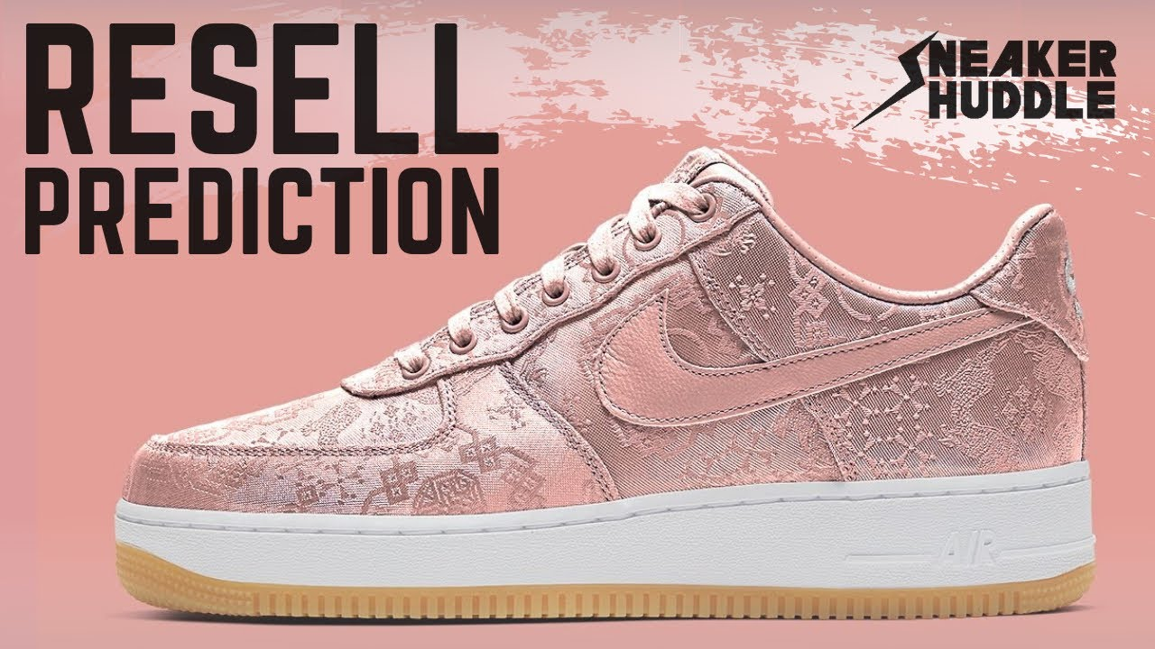 "CLOT Nike Air Force 1 'Rose Gold Silk' | Resell Prediction + How to Cop ""JANUARY 21st"