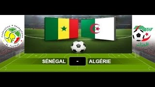 Algerie vs Senegal can 2017 DIRECT live Streaming HD