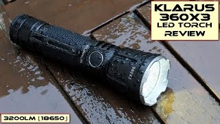 Klarus 360X3 LED Torch: Review & Test