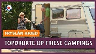 REPO: Topdrukte op Friese campings