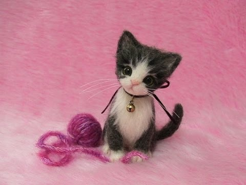 Needle Felted Creations by LilyNeedleFelting: Needle Felted Cats and Dogs, Needle Felting