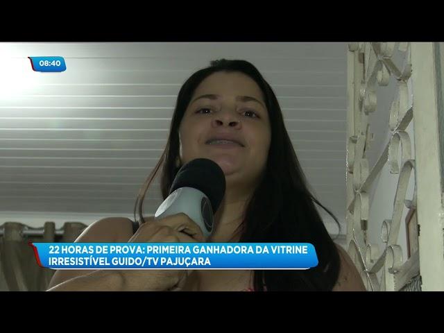 Vitrine Irresistível Guido/TV Pajuçara: Conheça a grande vencedora