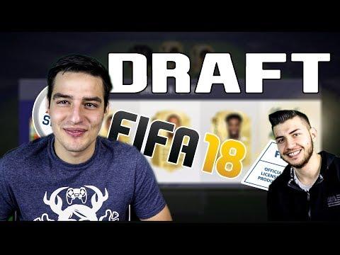 НАЙ-БЪРЗИЯТ DRAFT FIFA 18 с WICKYBG!