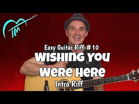 Acoustic Guitar Riff Lesson: Wish You Were Here (Pink Floyd)