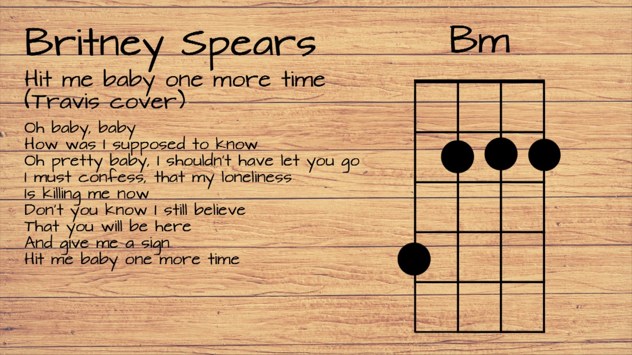 Travis – Baby One More Time Lyrics | Genius Lyrics