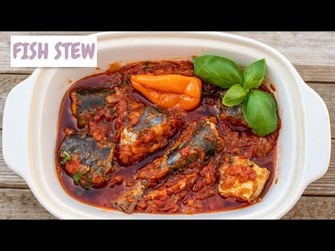 CAMEROONIAN FISH STEW // Fish Stew Recipe // African Fish Stew // Tomato Stew