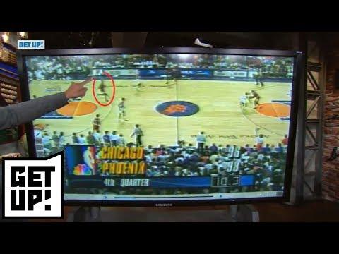 Jalen Rose breaks down film of John Paxson's dagger shot vs. Suns in 1993 NBA Finals   Get Up   ESPN