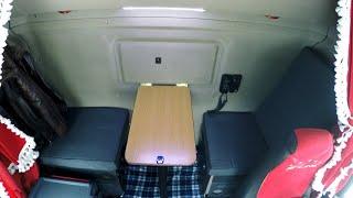 купе - трансформер в кабине Scania своими руками