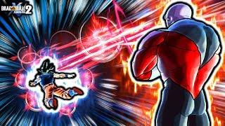 THIS NEW JIREN DAMAGES BY STARING! Dragon Ball Xenoverse 2 Custom Anime Jiren Eye Glare Skills