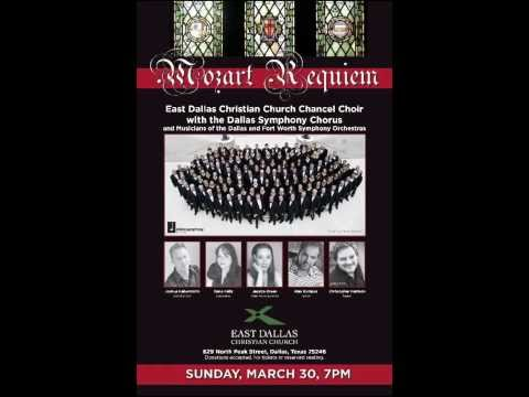 Mozart Requiem at East Dallas Christian Church (Courtesy of WRR 101.1 Classical Radio)